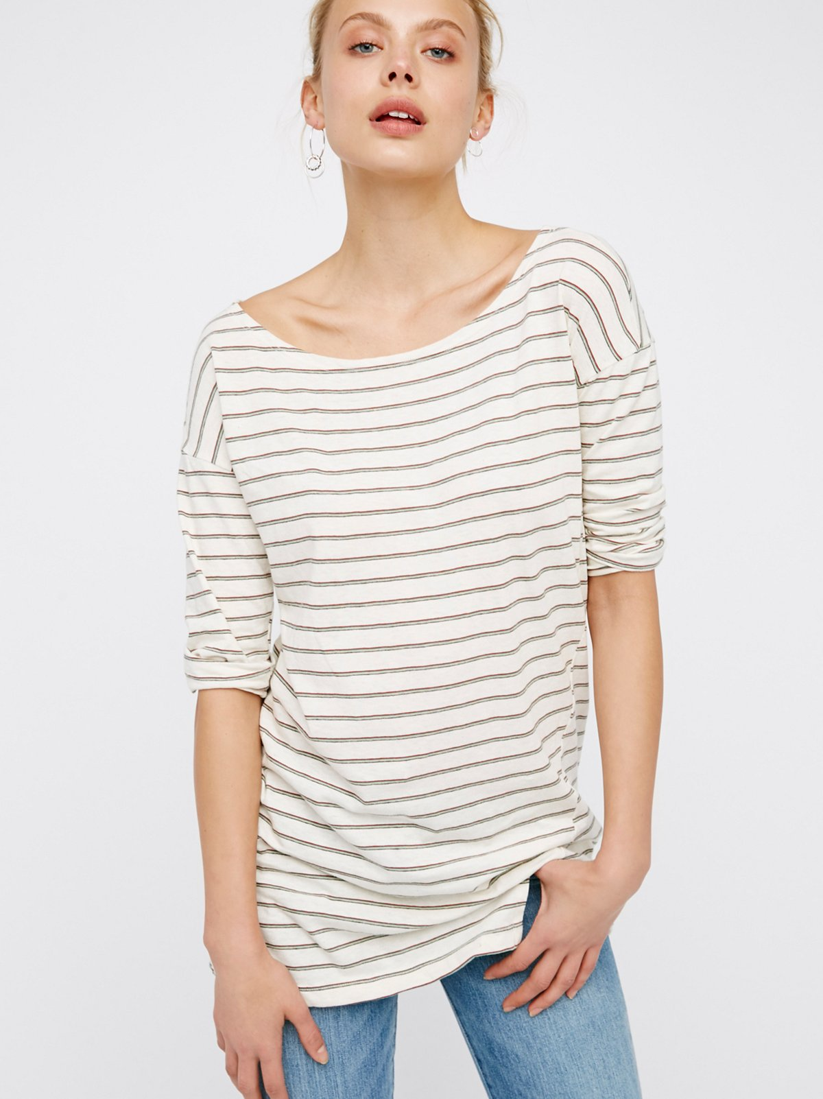 Everyday Striped Tunic
