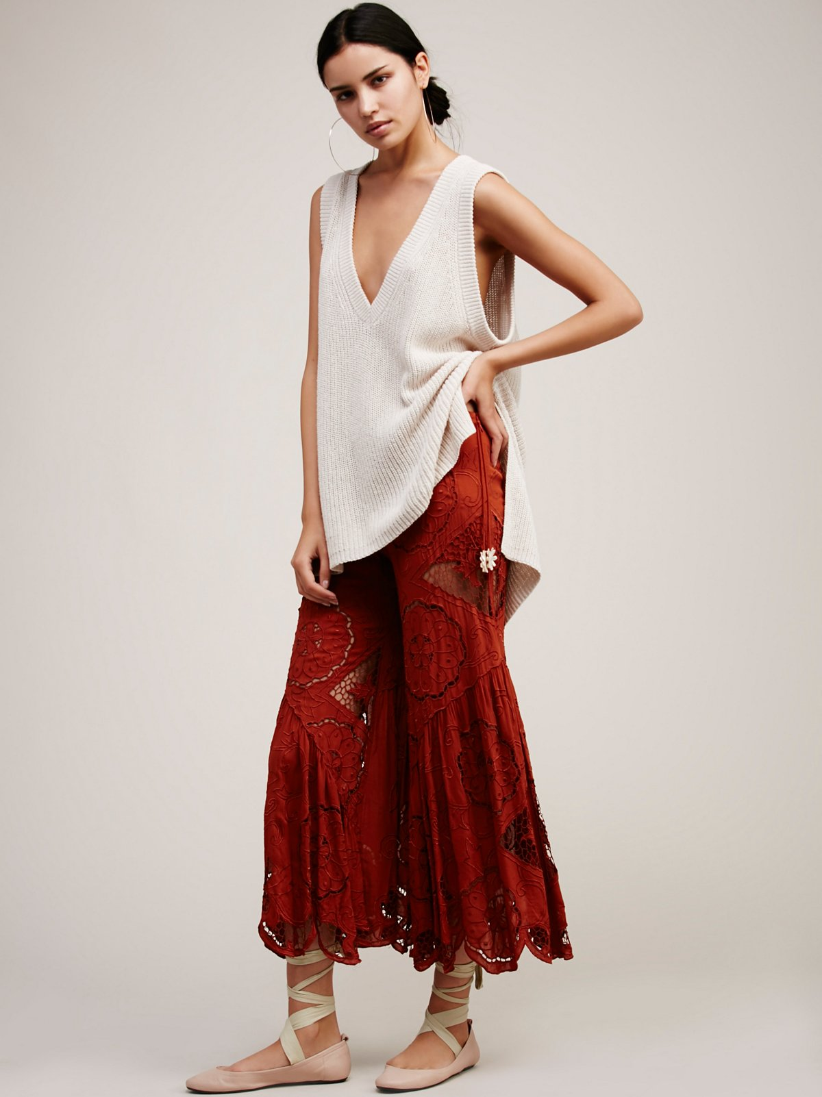 Bali Les Folies Culotte Pant At Free People Clothing Boutique