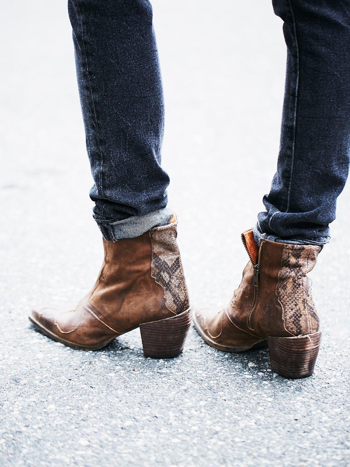 Nevada Thunder踝靴
