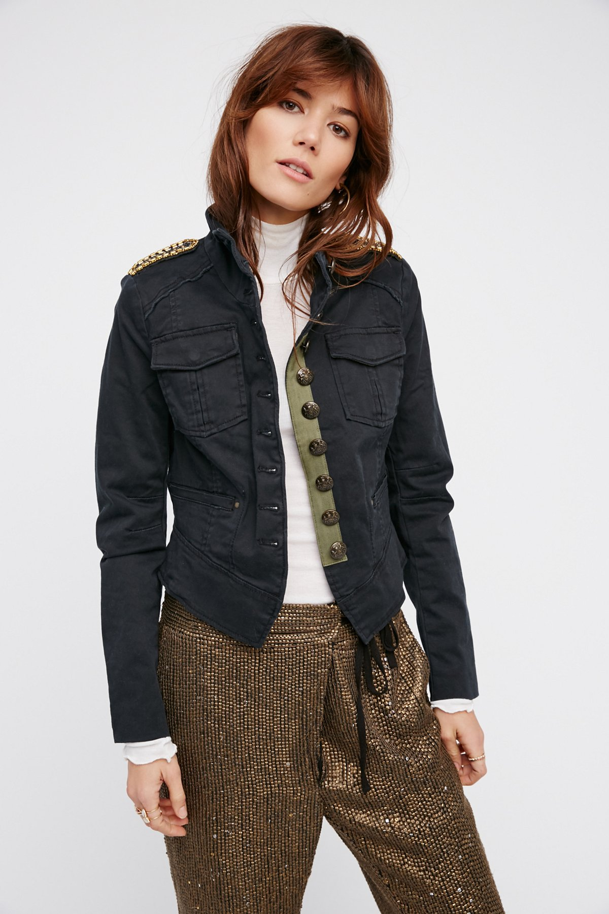 Shrunken Officer Jacket