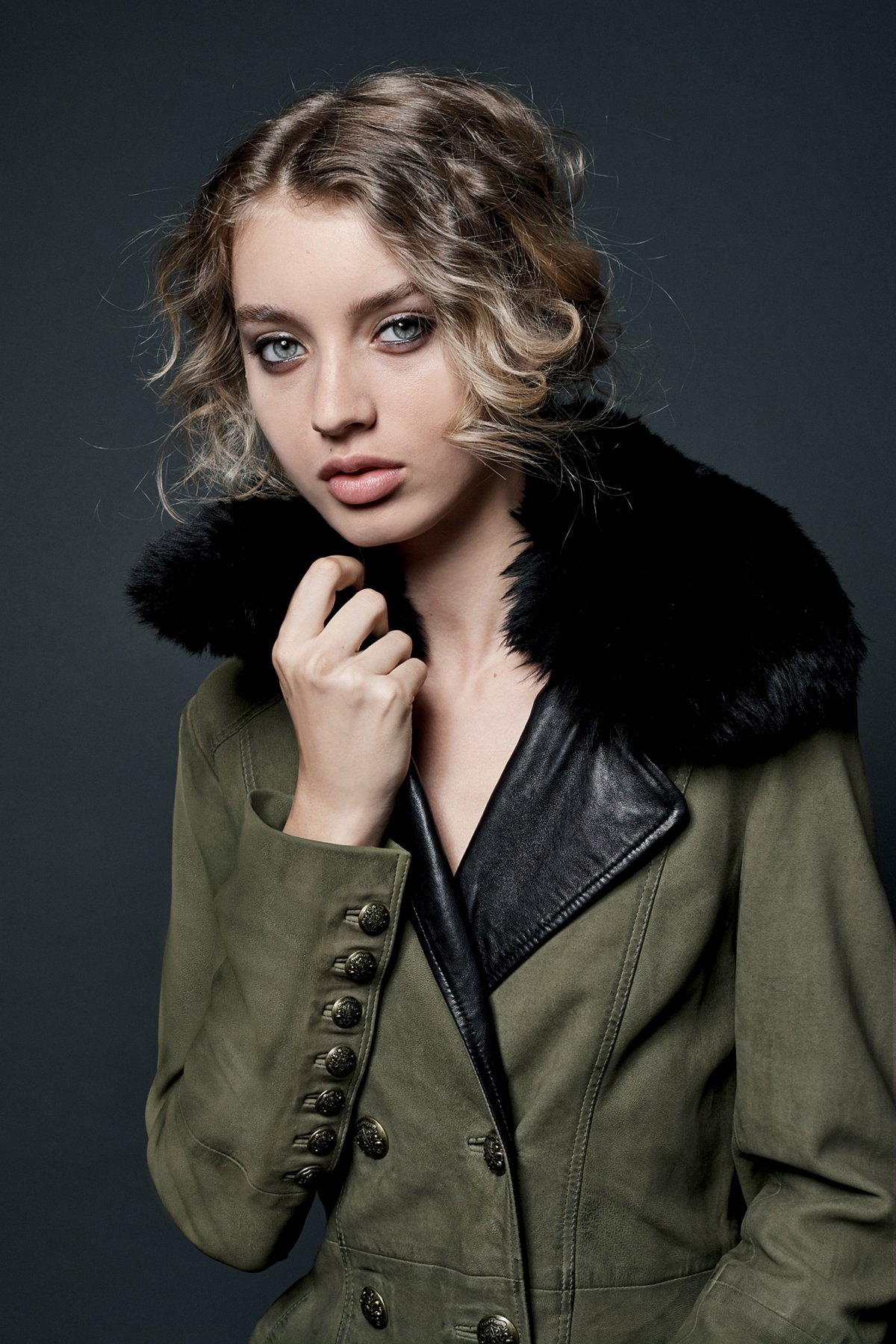 MIlitary Fur Trench