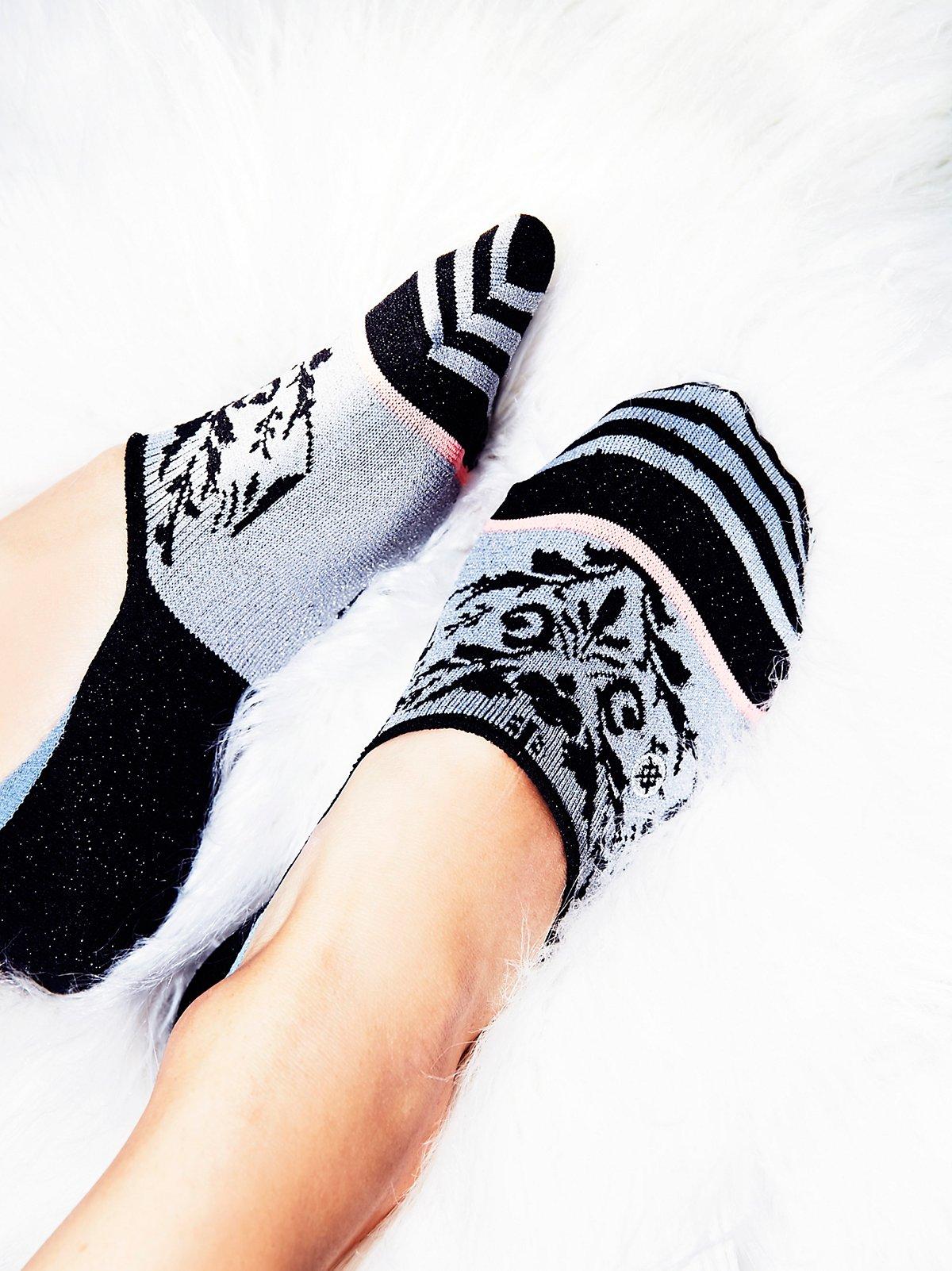 Sierra金银丝脚板袜