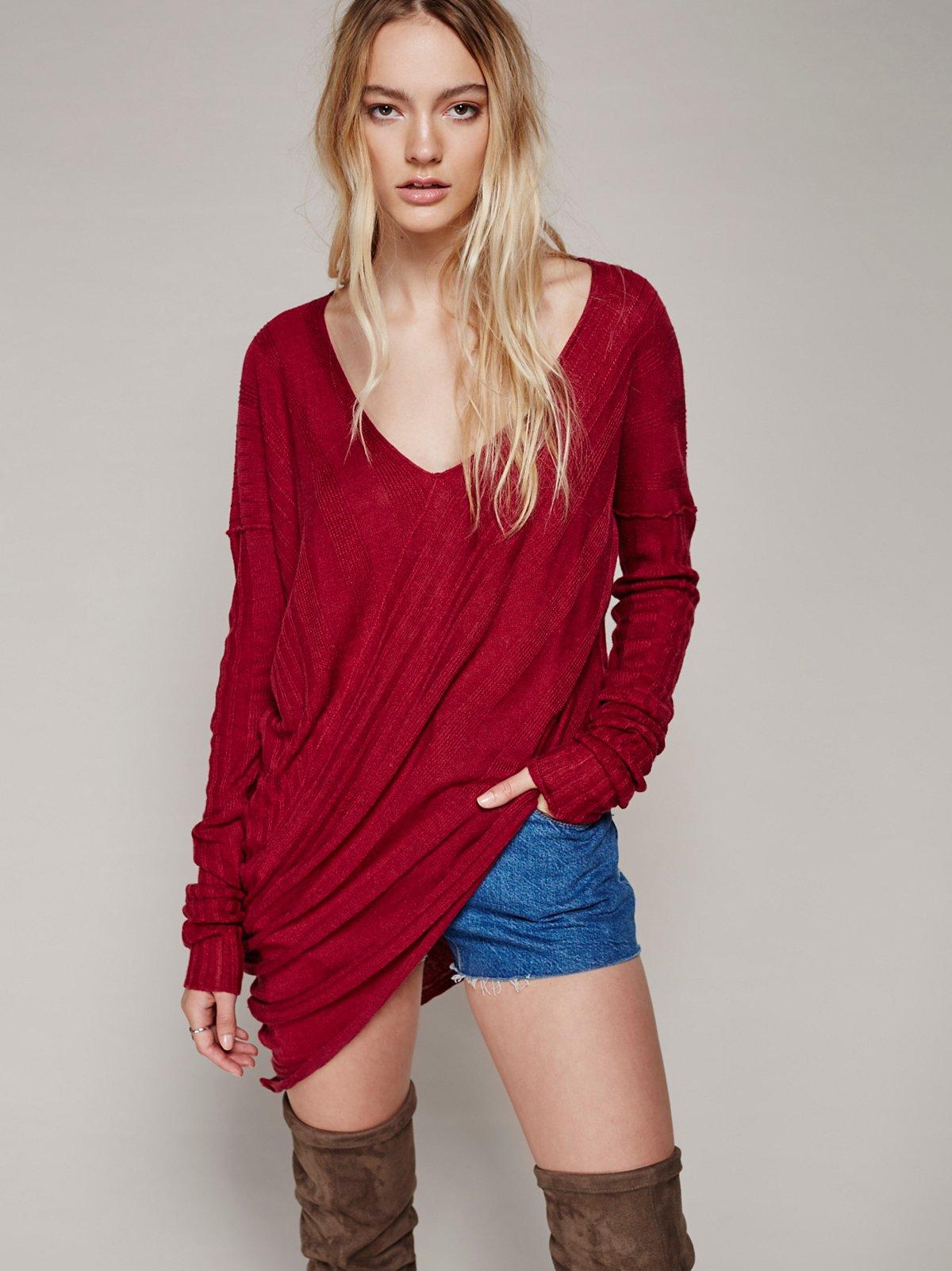 Sweet Destiny Asymmetrical Sweater