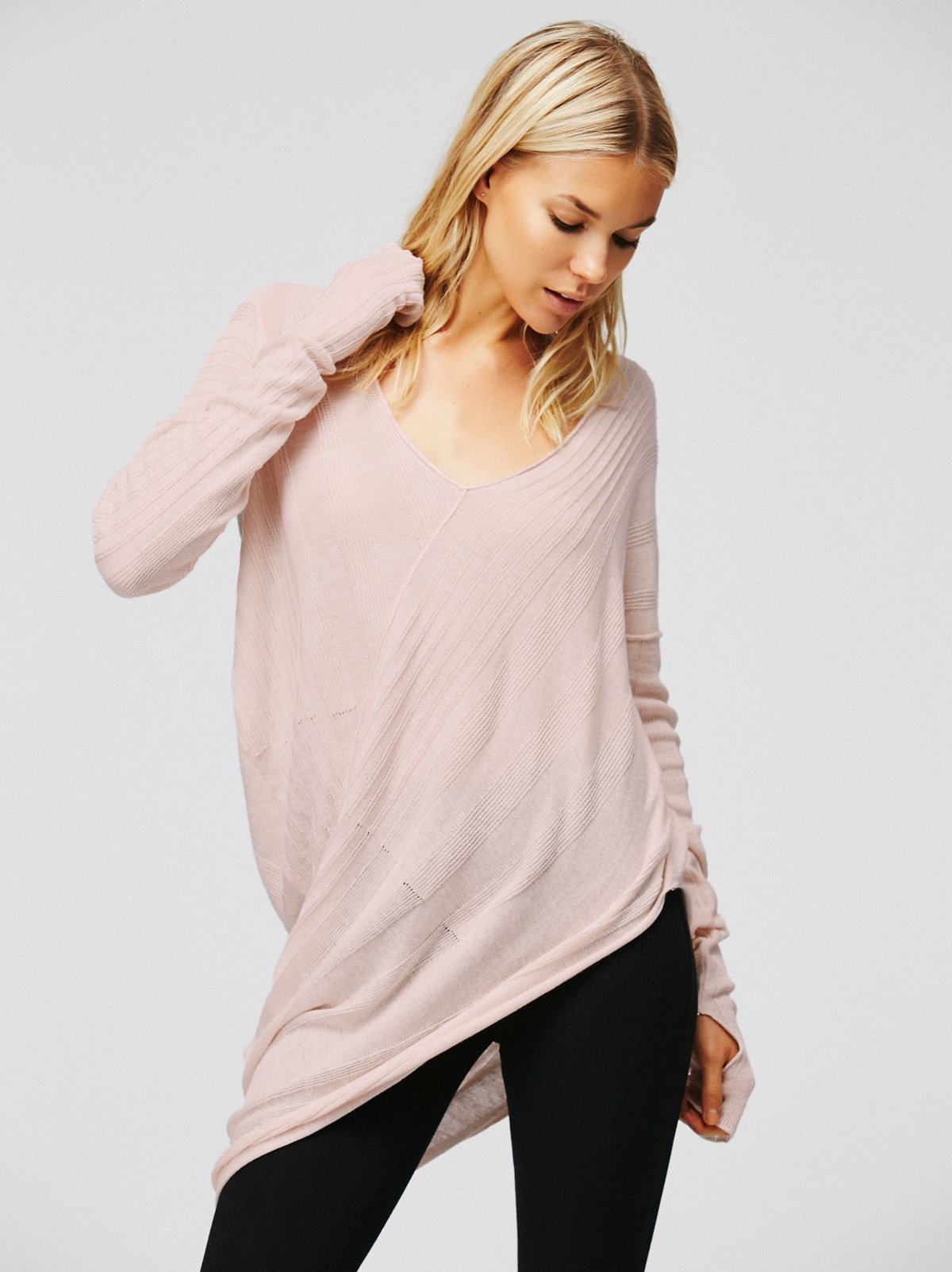 Sweet Destiny Asymmetrical Sweater