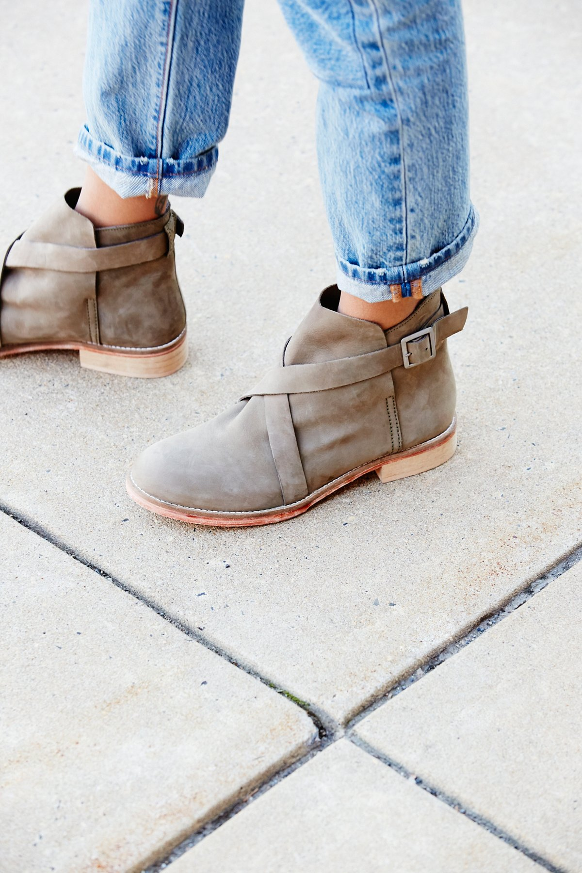 Las Palmas踝靴