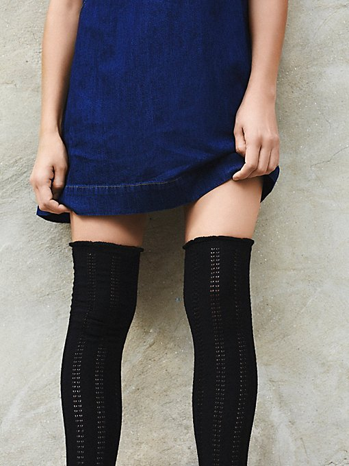 Product Image: Fray II Pointelle Over the Knee Sock