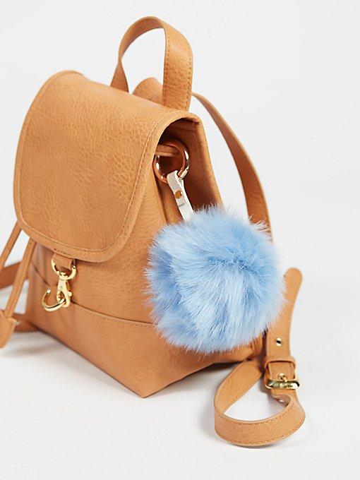 Product Image: Faux Fur Pompom Bag Charm