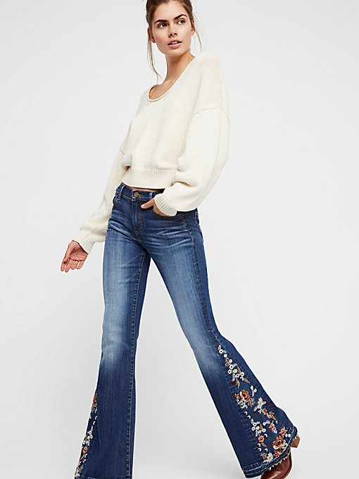 Flare Jeans Amp Wide Leg Jeans For Women  Free People UK