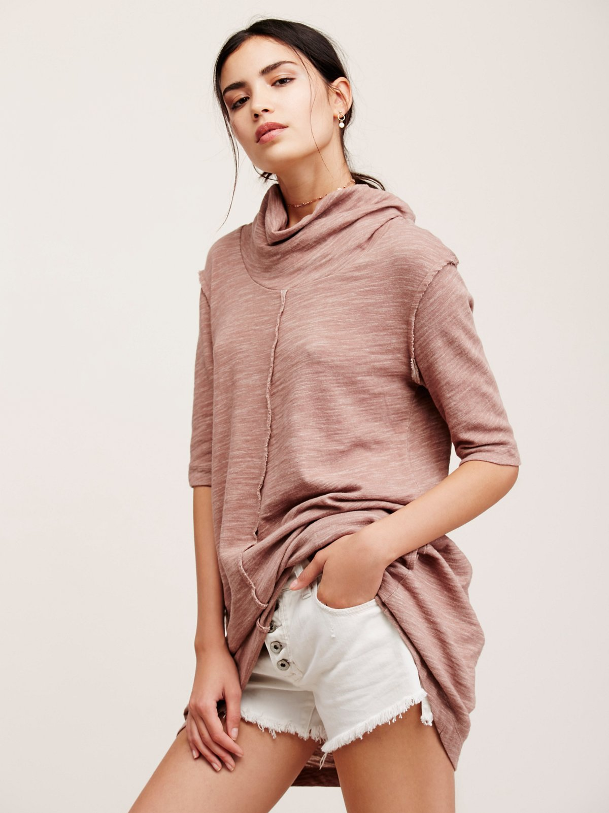 Spring Cocoon Swing Tunic
