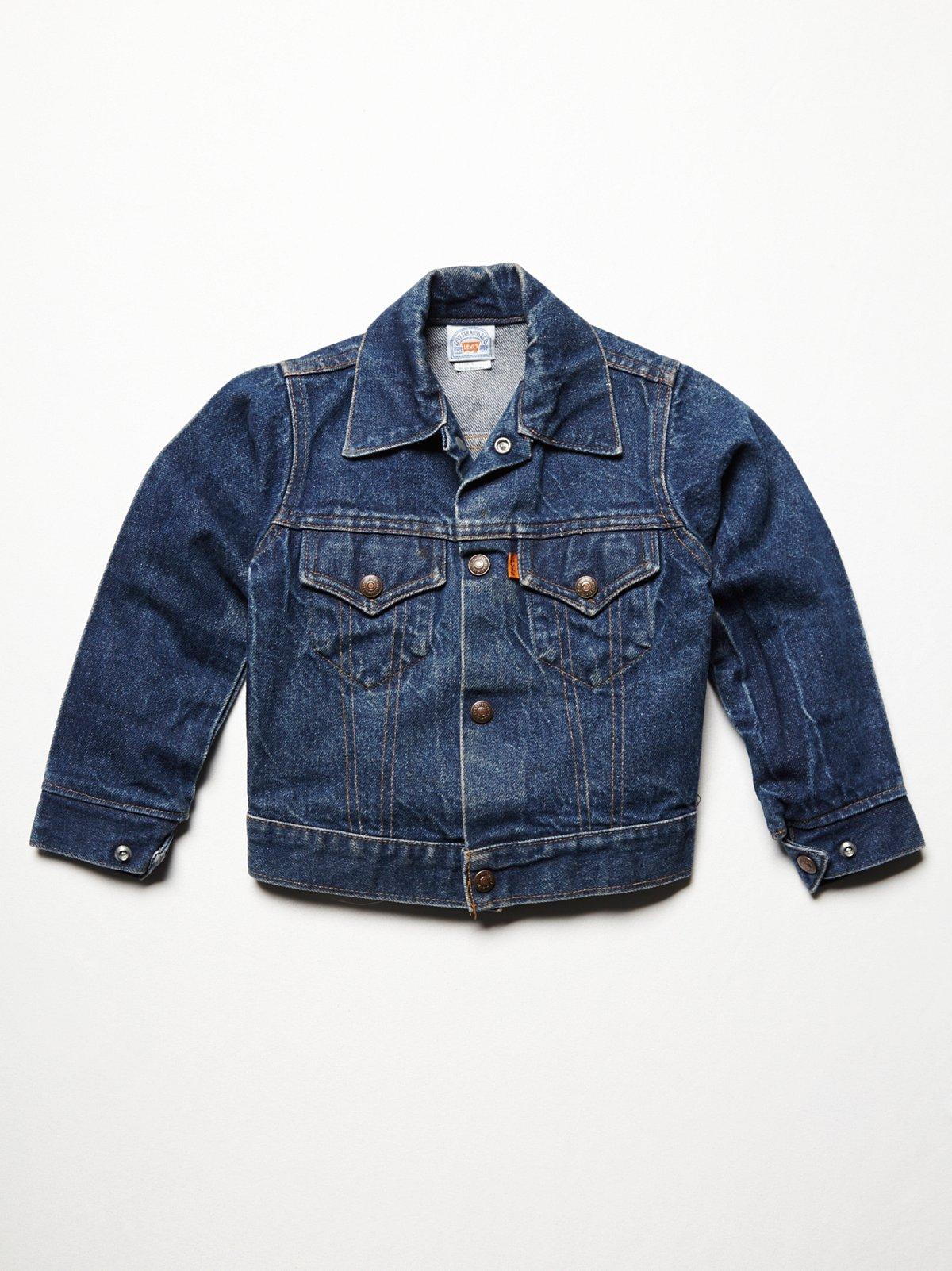 Vintage Kids Denim Jacket