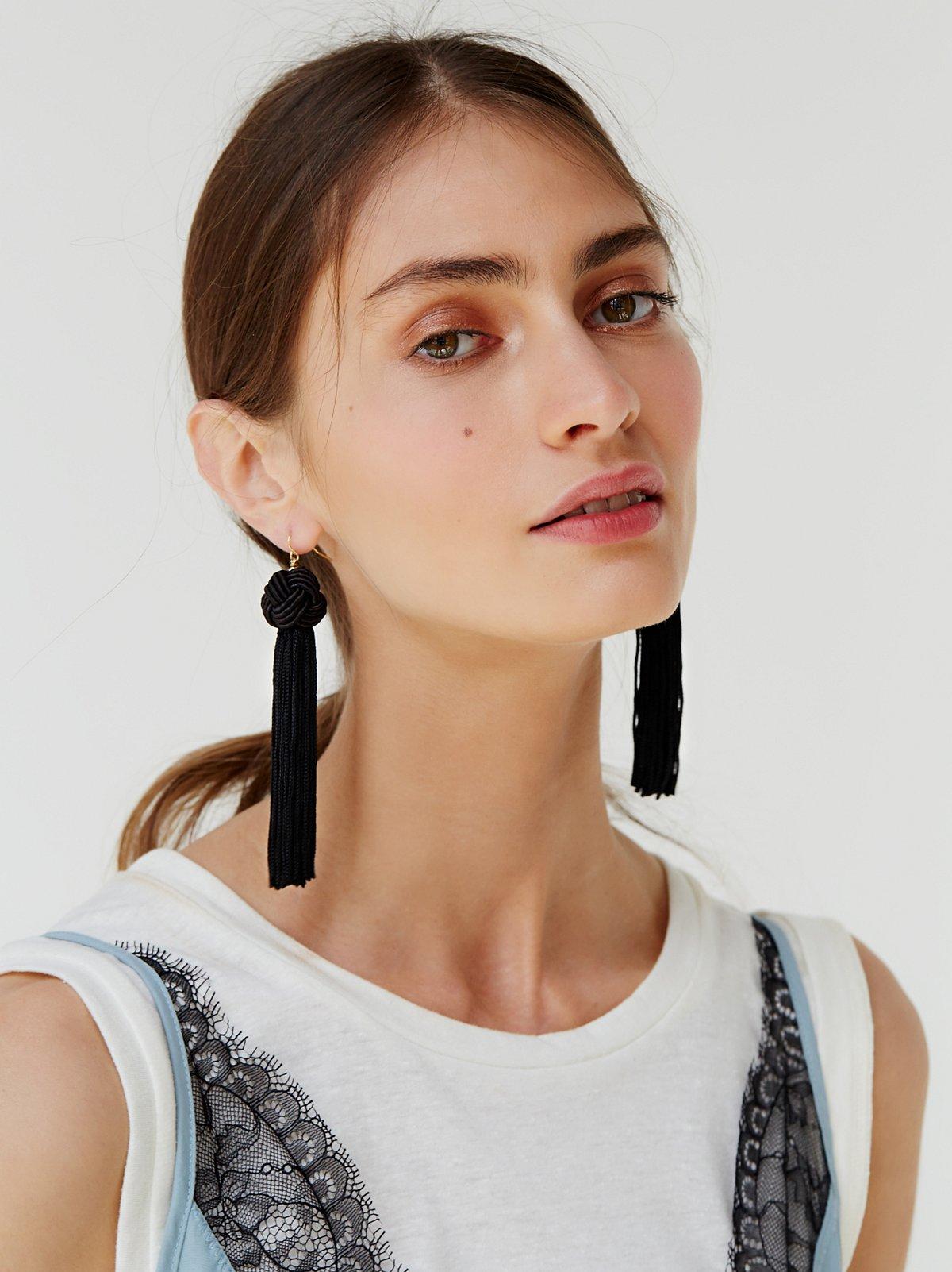 Astrid Tassel Earring