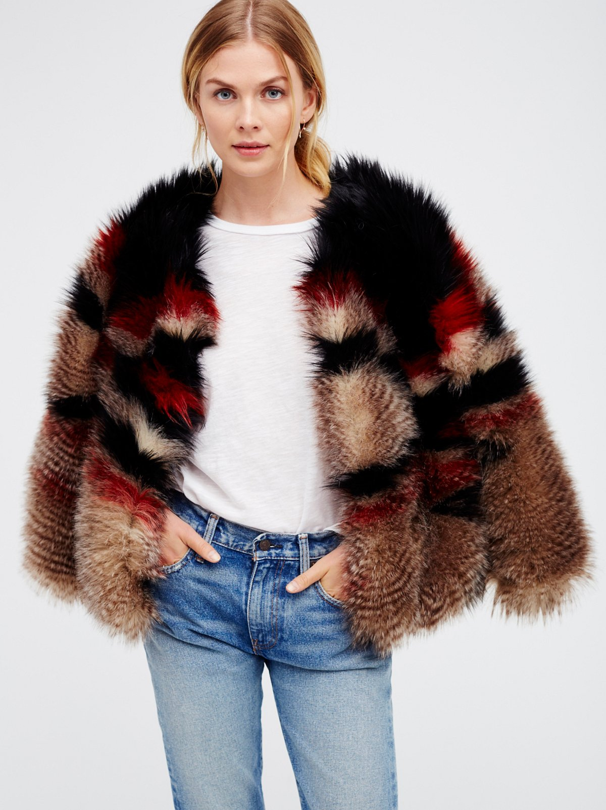 Scarlet Faux Fur Jacket at Free People Clothing Boutique