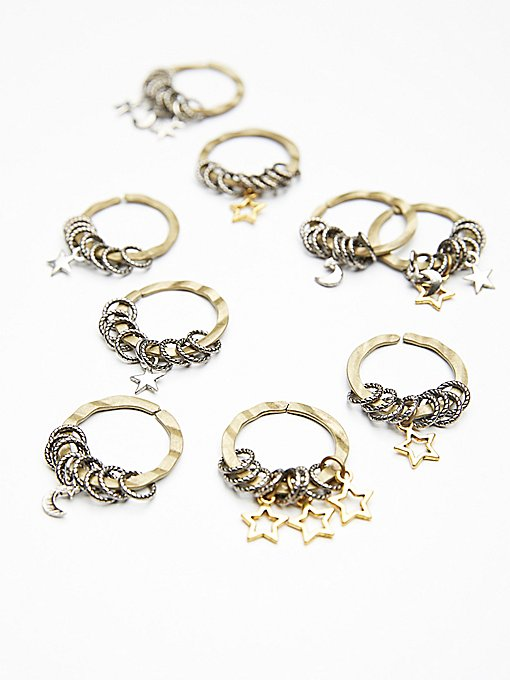 Product Image: Celestial Hair Rings