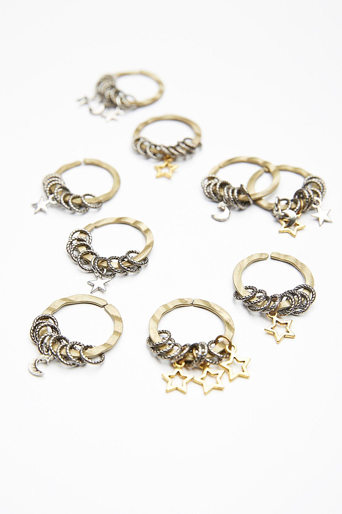 Celestial Hair Rings