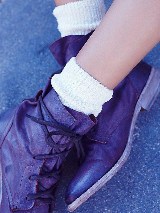Product Image: Cece Lurex Ankle Sock