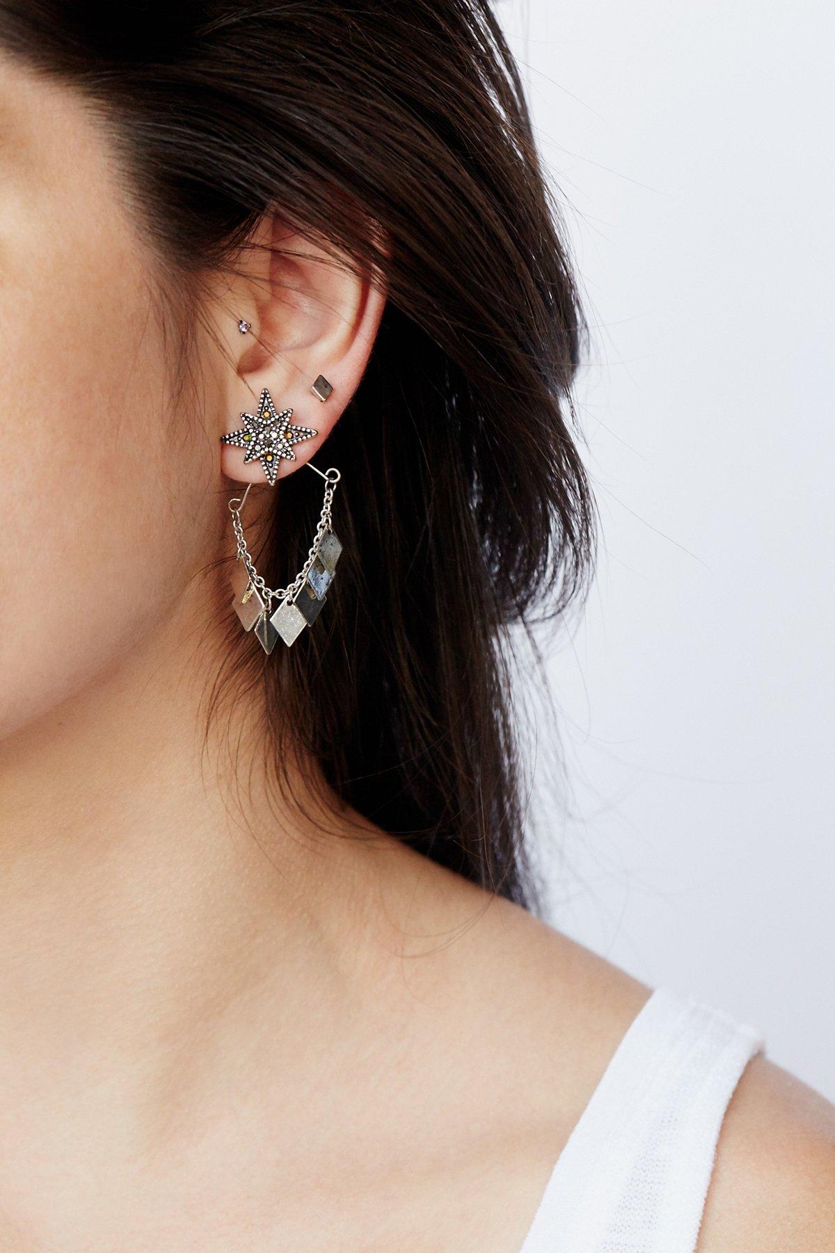 链环式耳环套装