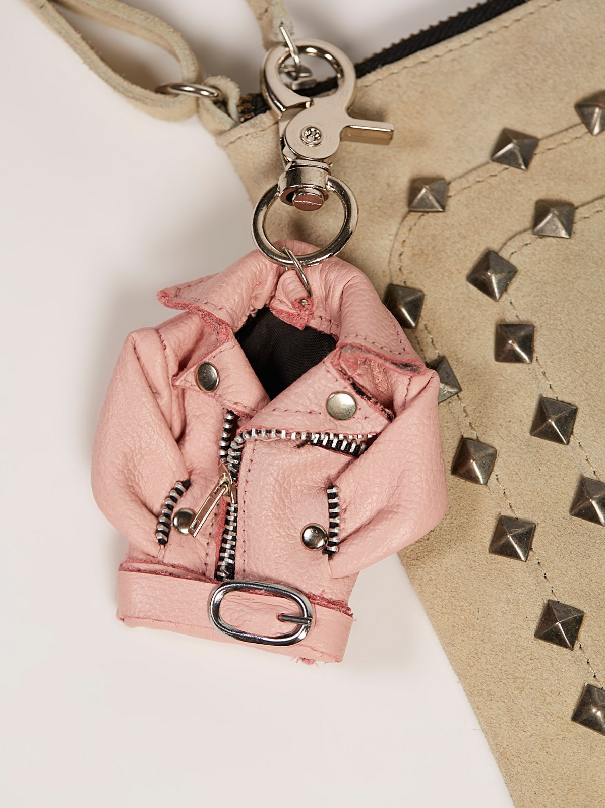 Mini Moto Jacket Bag Charm