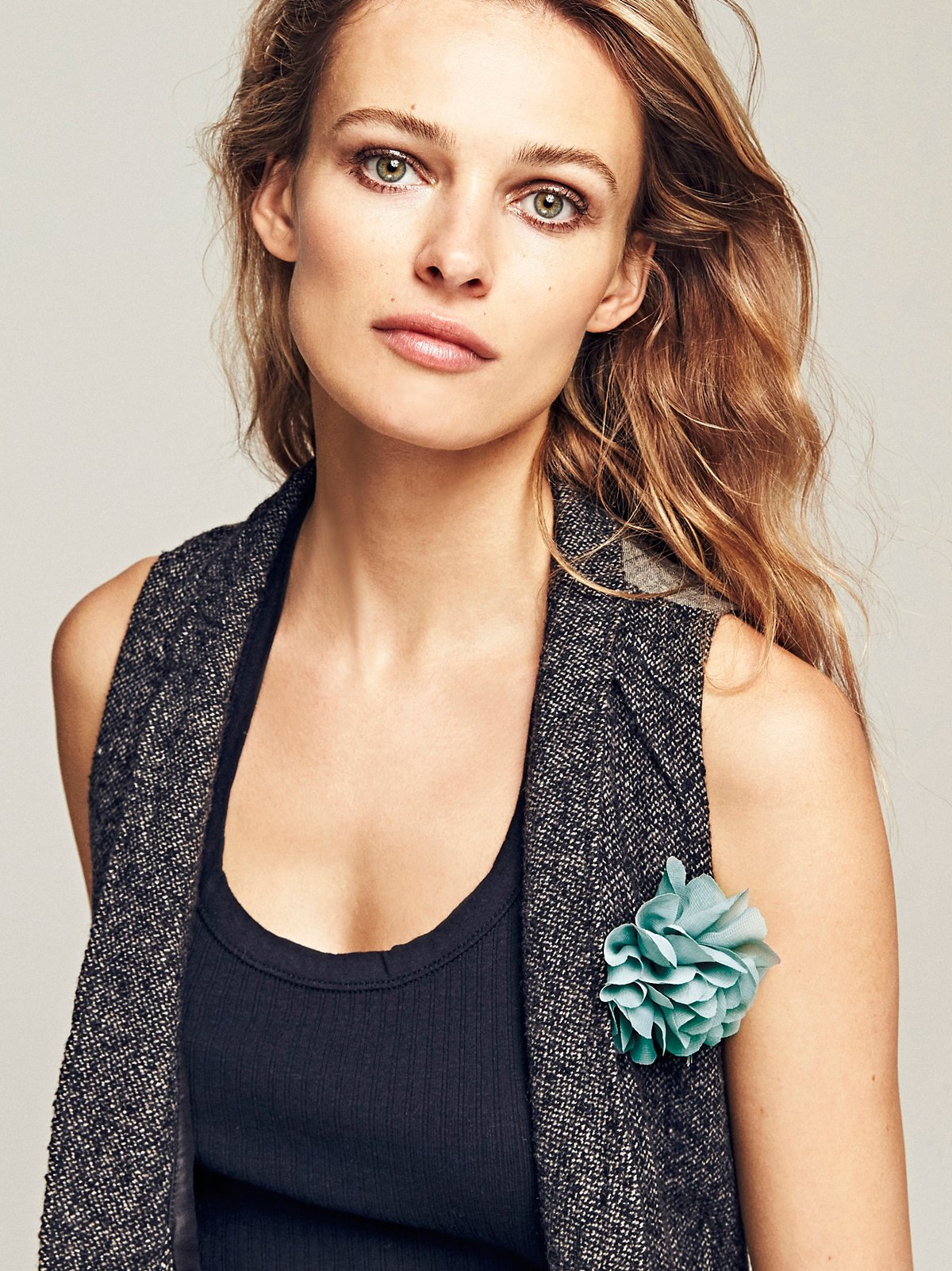 Alexa Rose Chiffon Pin