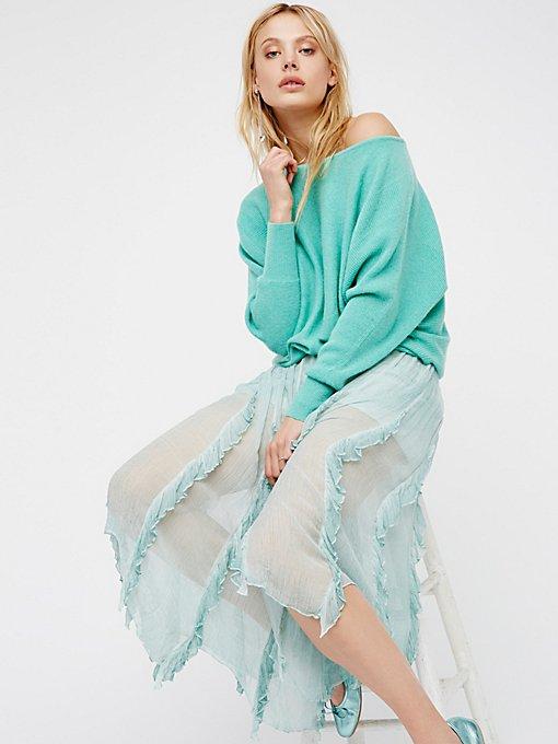 Product Image: Follow Me Ruffle Skirt