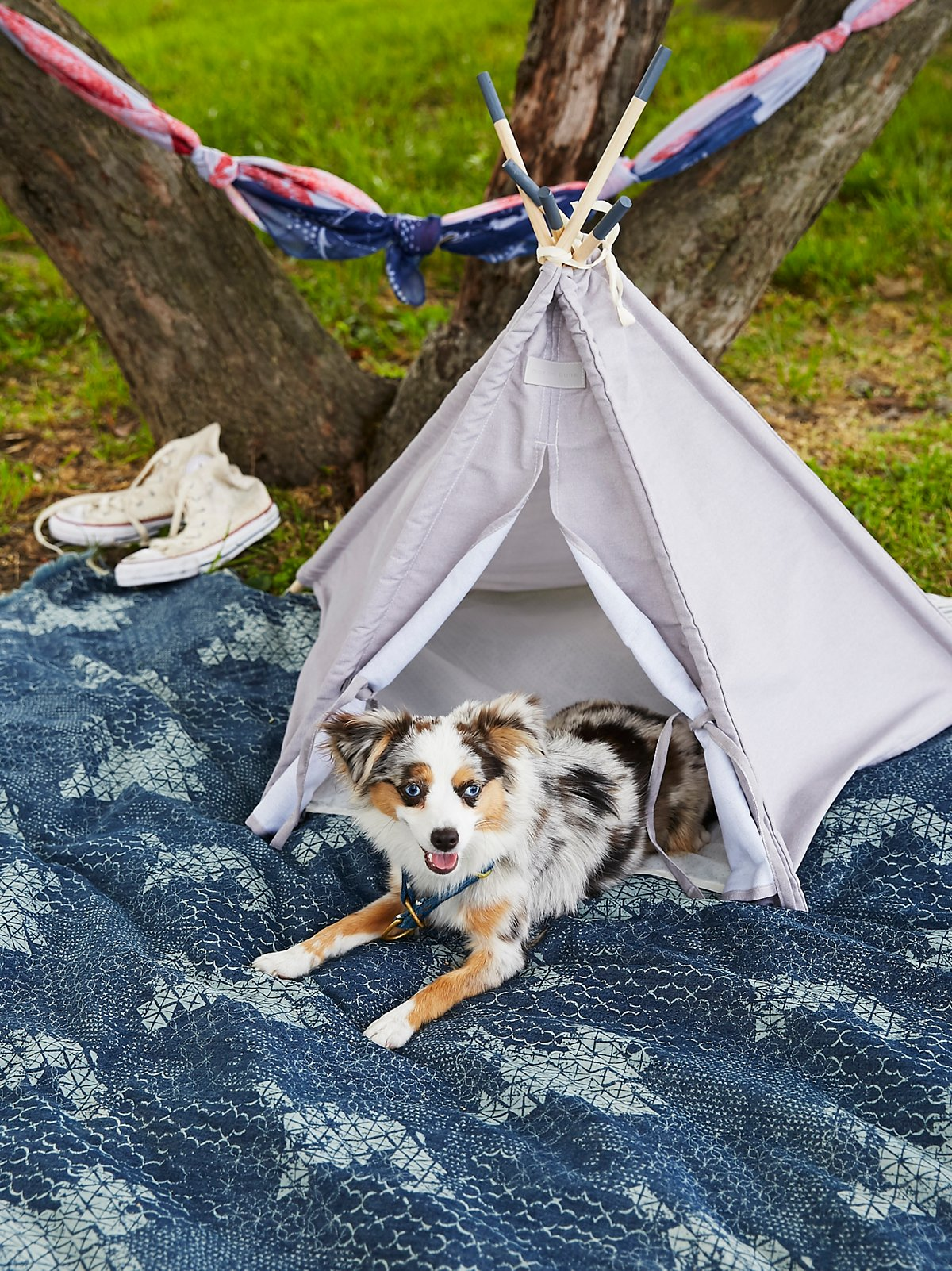 Canvas Pet Teepee