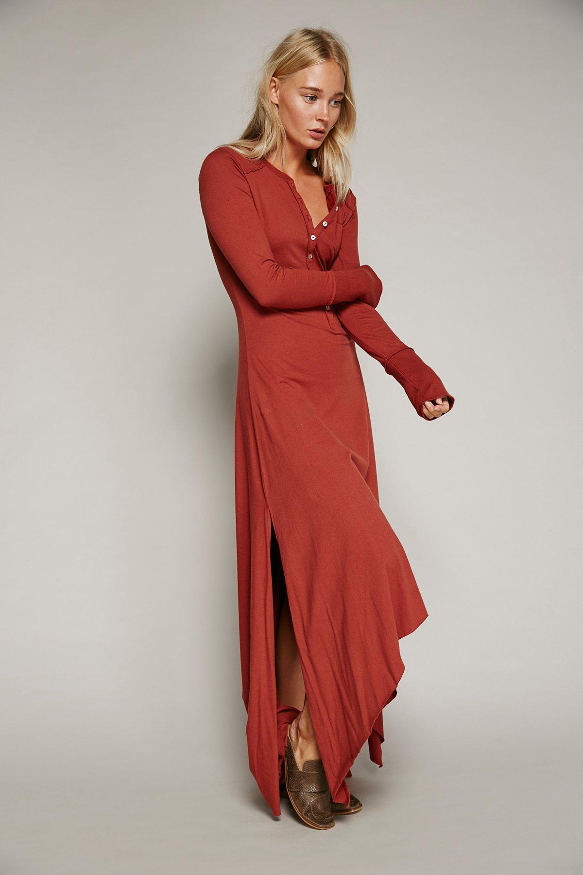 Legacy Henley Dress