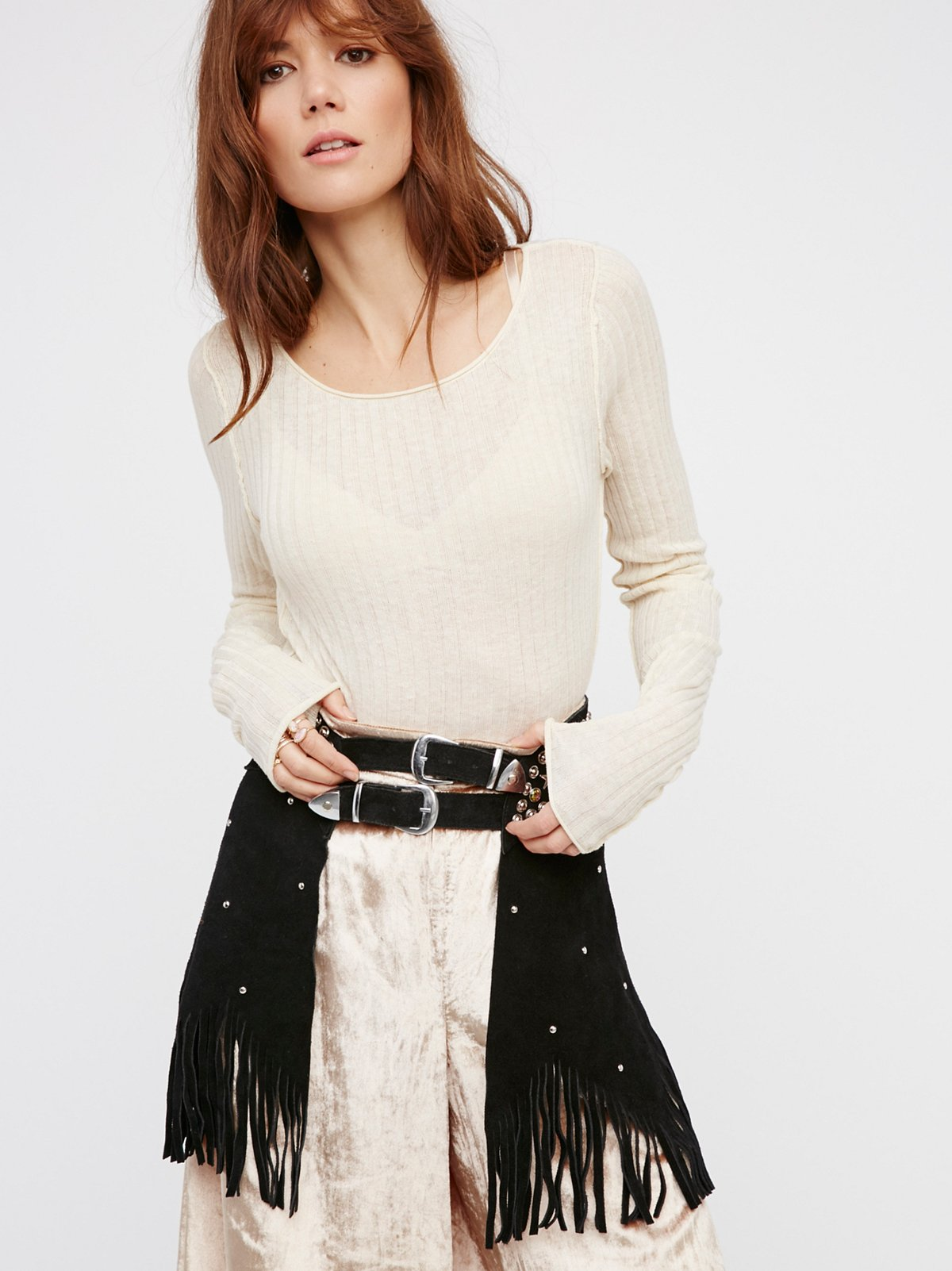 Paris Texas Chaps Belt