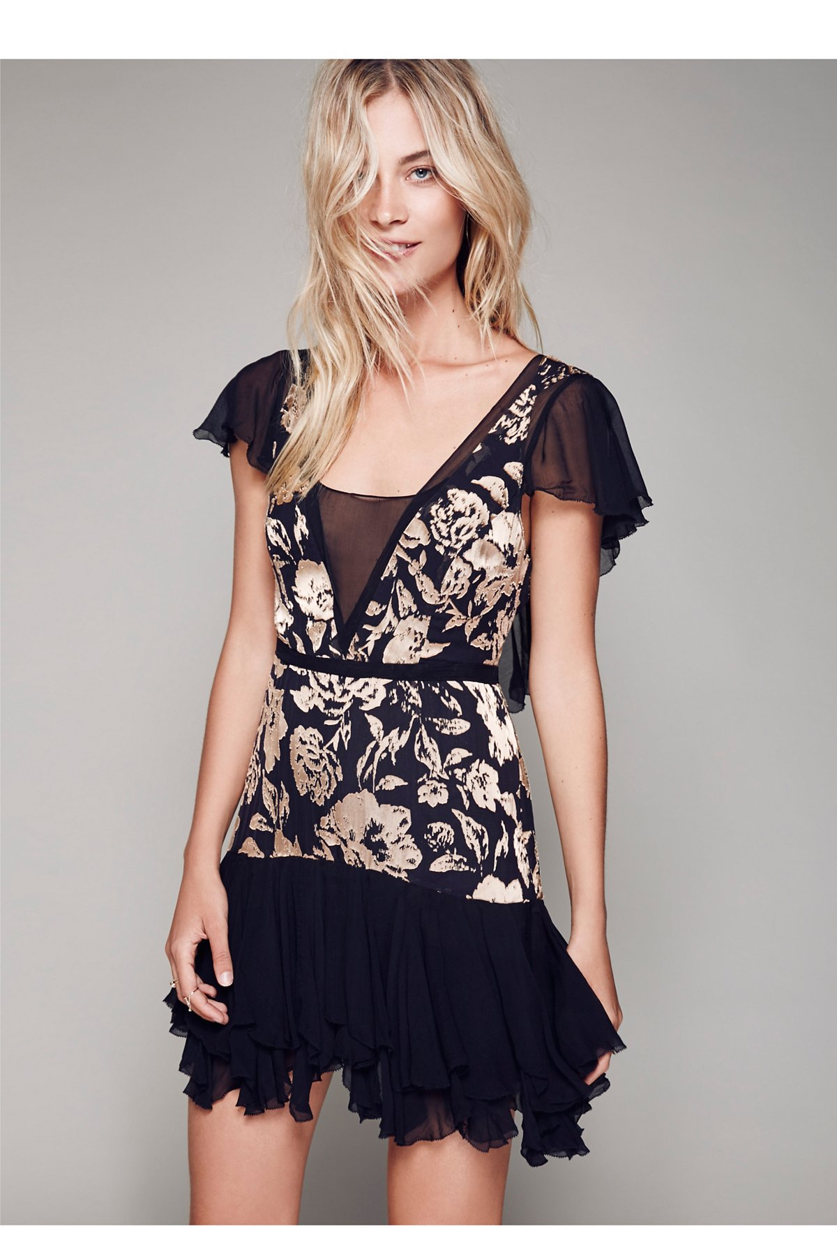Gilded Age Mini Dress