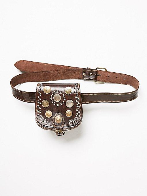 Product Image: Vintage Coin Pocket Belt