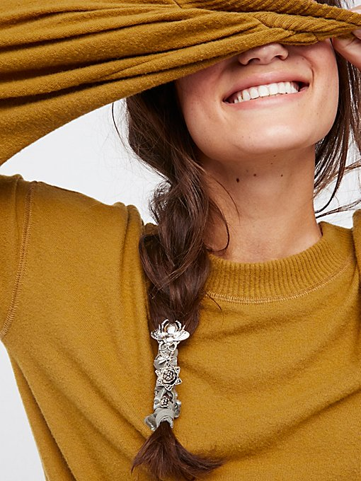 Product Image: 金属蔷薇花蕾装饰头绳
