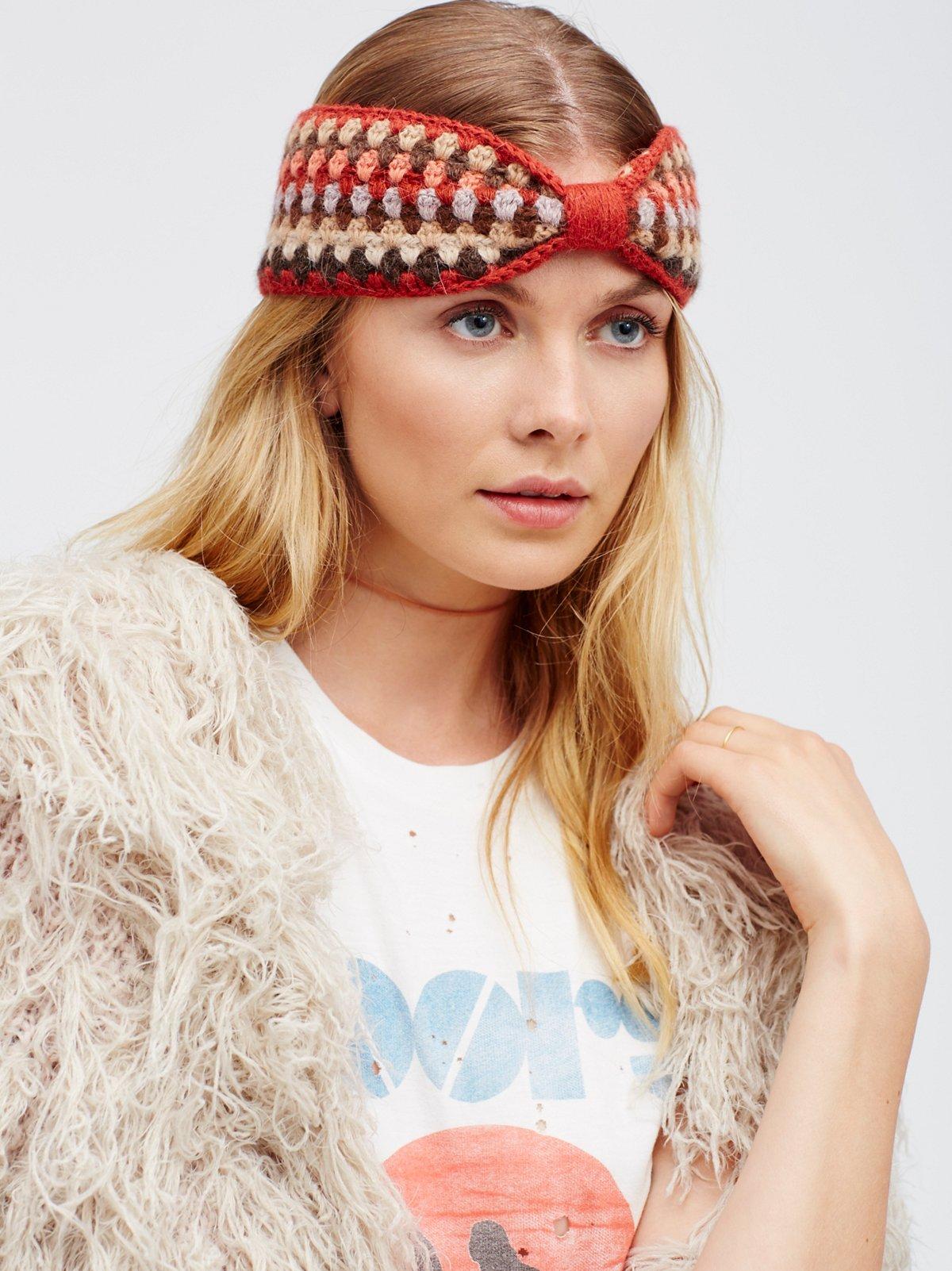 Bella Crochet Headband