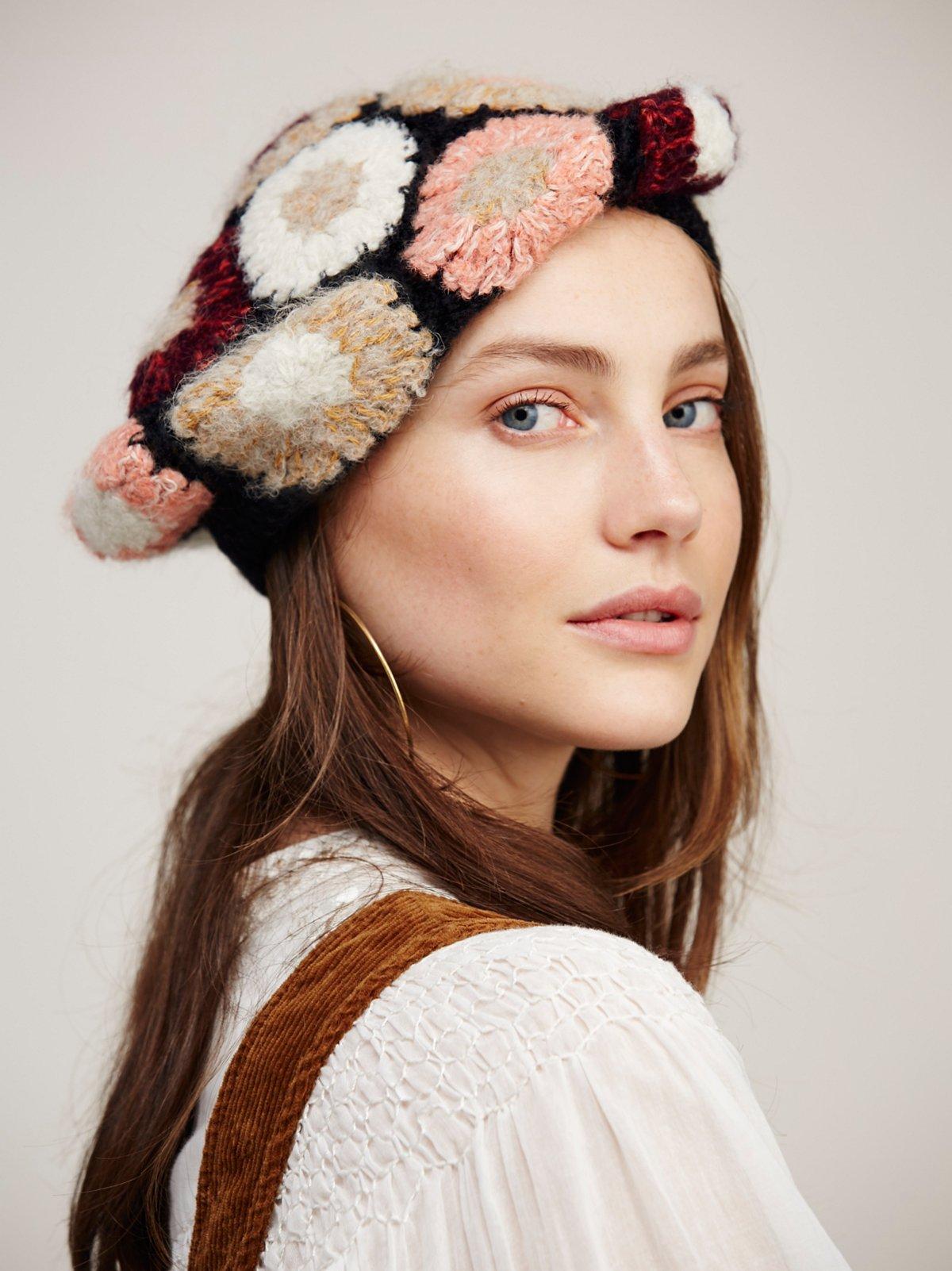 Gigi Crochet Beret