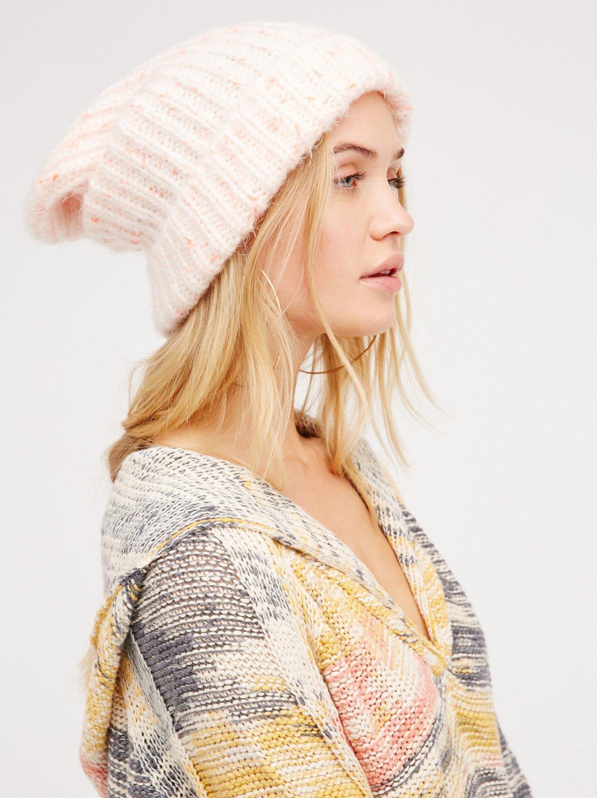 超柔针织帽
