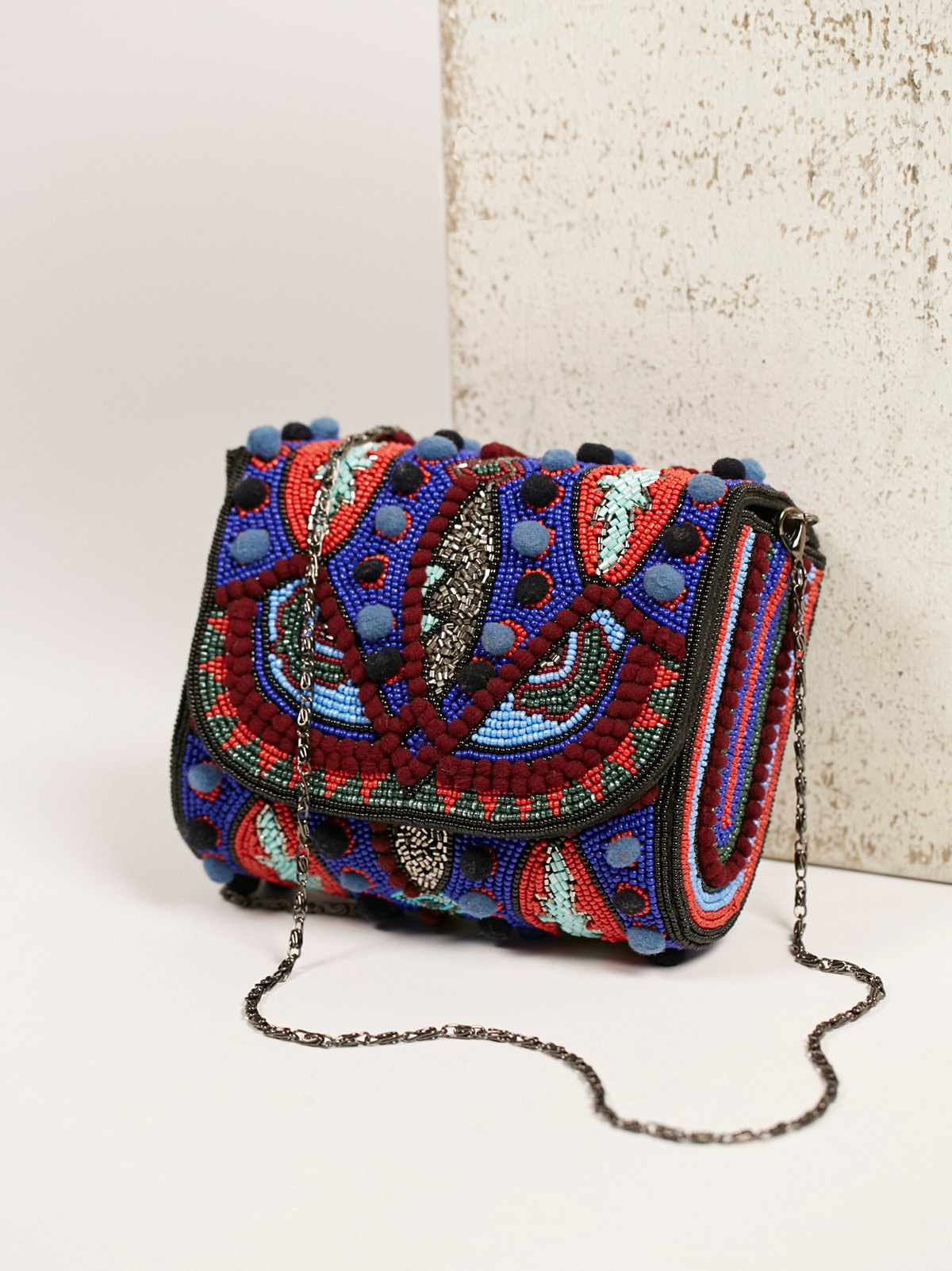 Kaleidoscope Beaded Crossbody