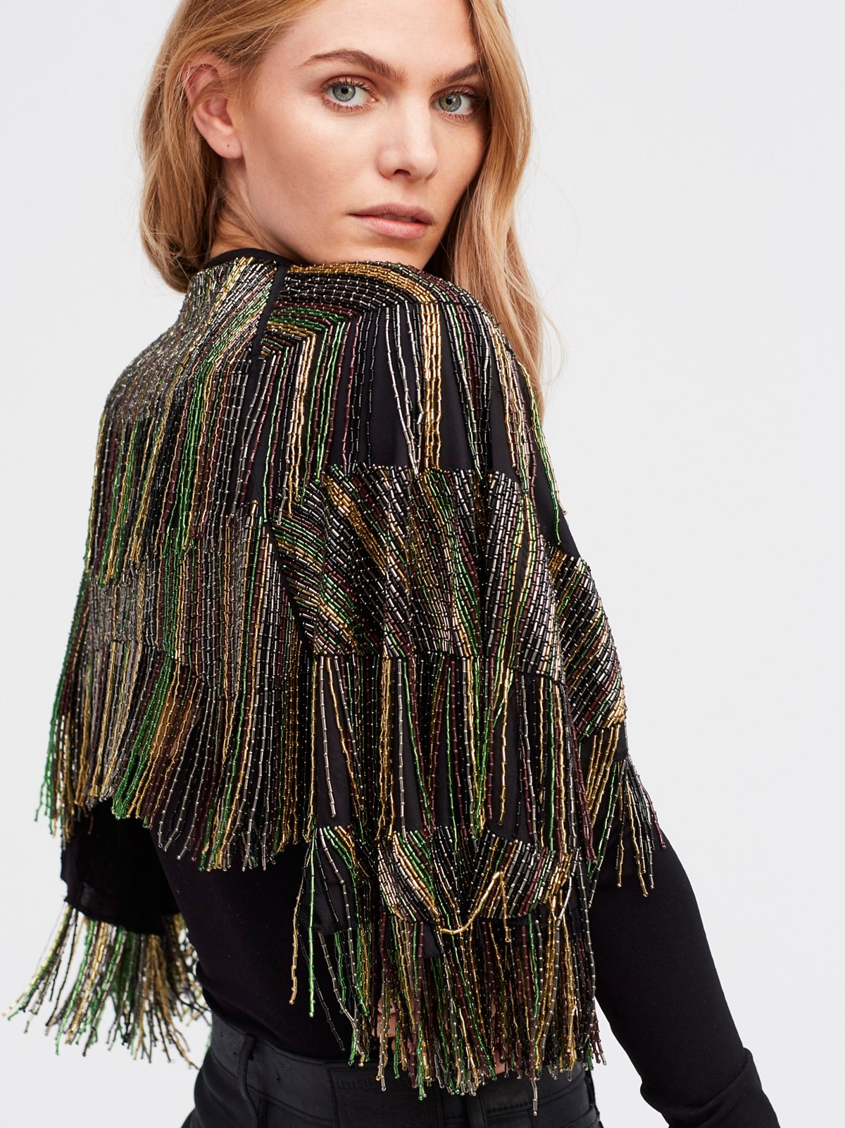 Midnight Special Embellished Cape