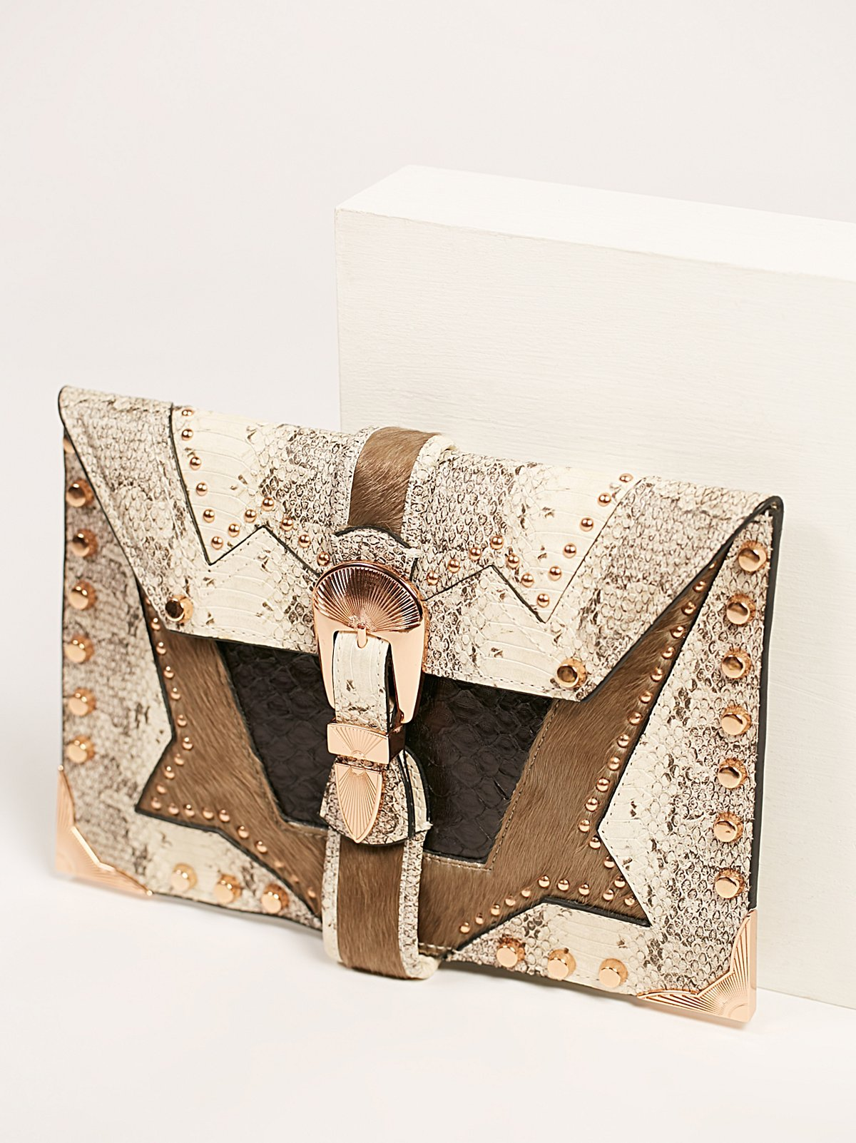 Lonestar Envelope Clutch