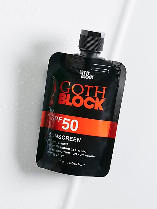 Product Image: Goth Block SPF 50 Sunscreen