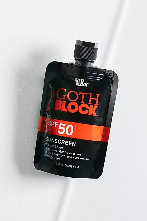 Product Image: Goth Block SPF 50防晒霜
