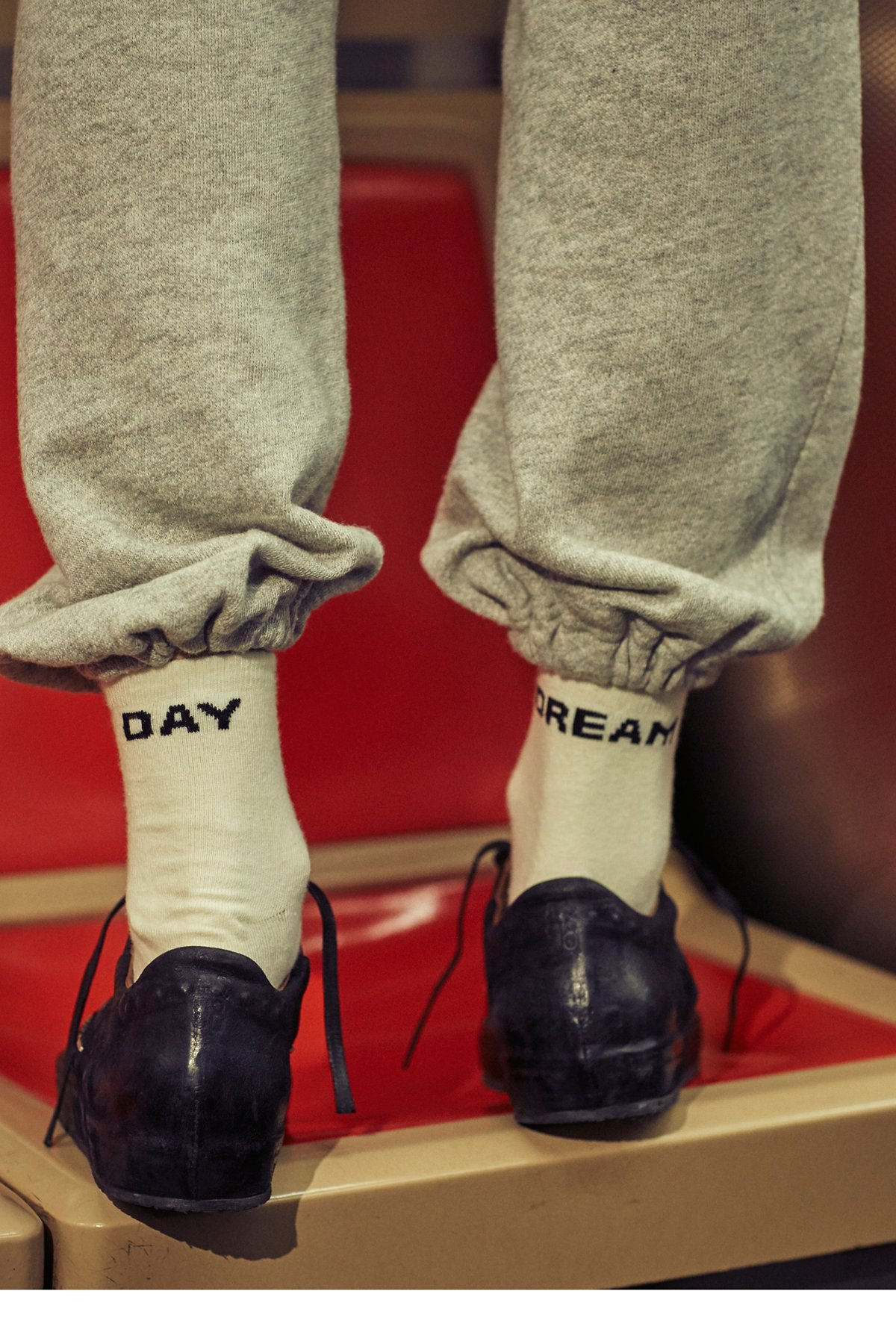 Talk Back Ankle Socks