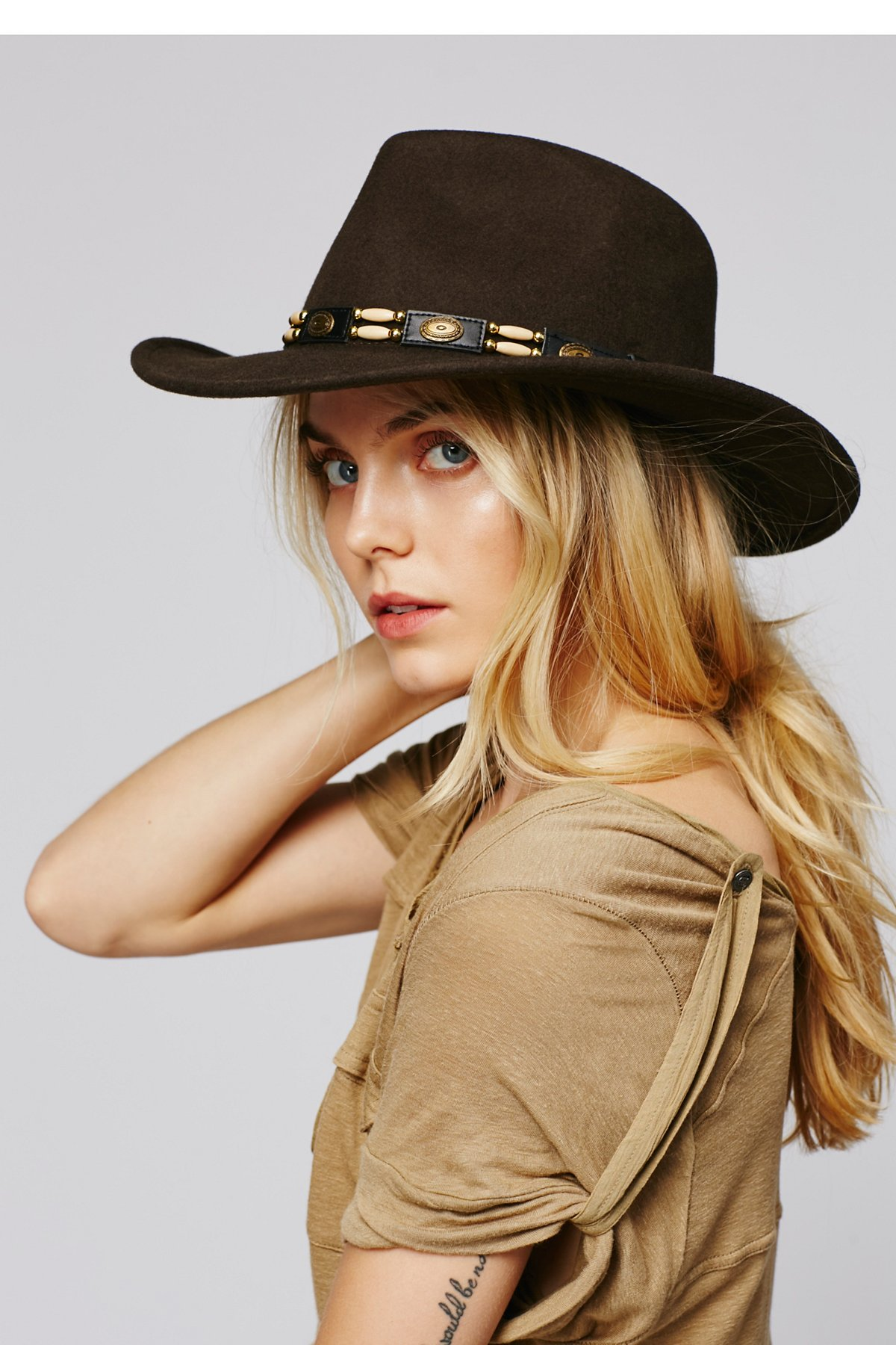 Calimesa毛毡牛仔帽