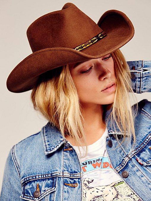 Product Image: Mainlander Felt Cowboy Hat