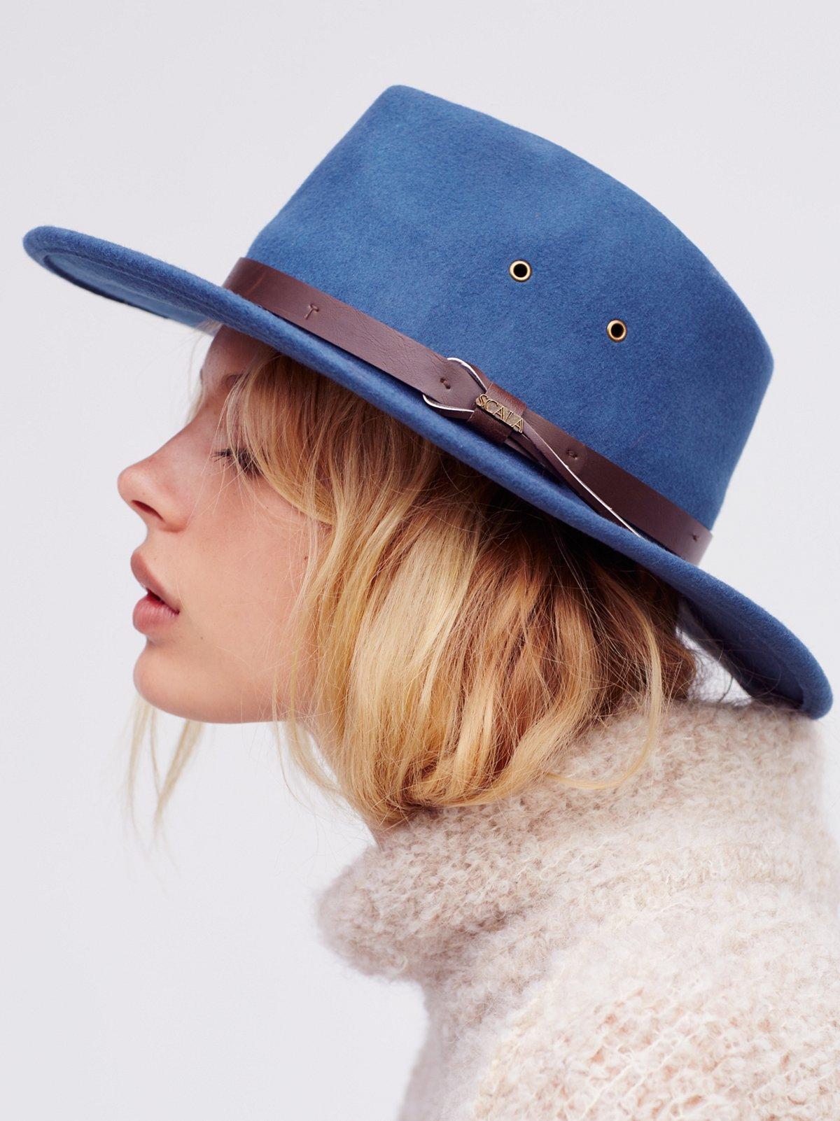 Sawyer羊毛毡牛仔帽