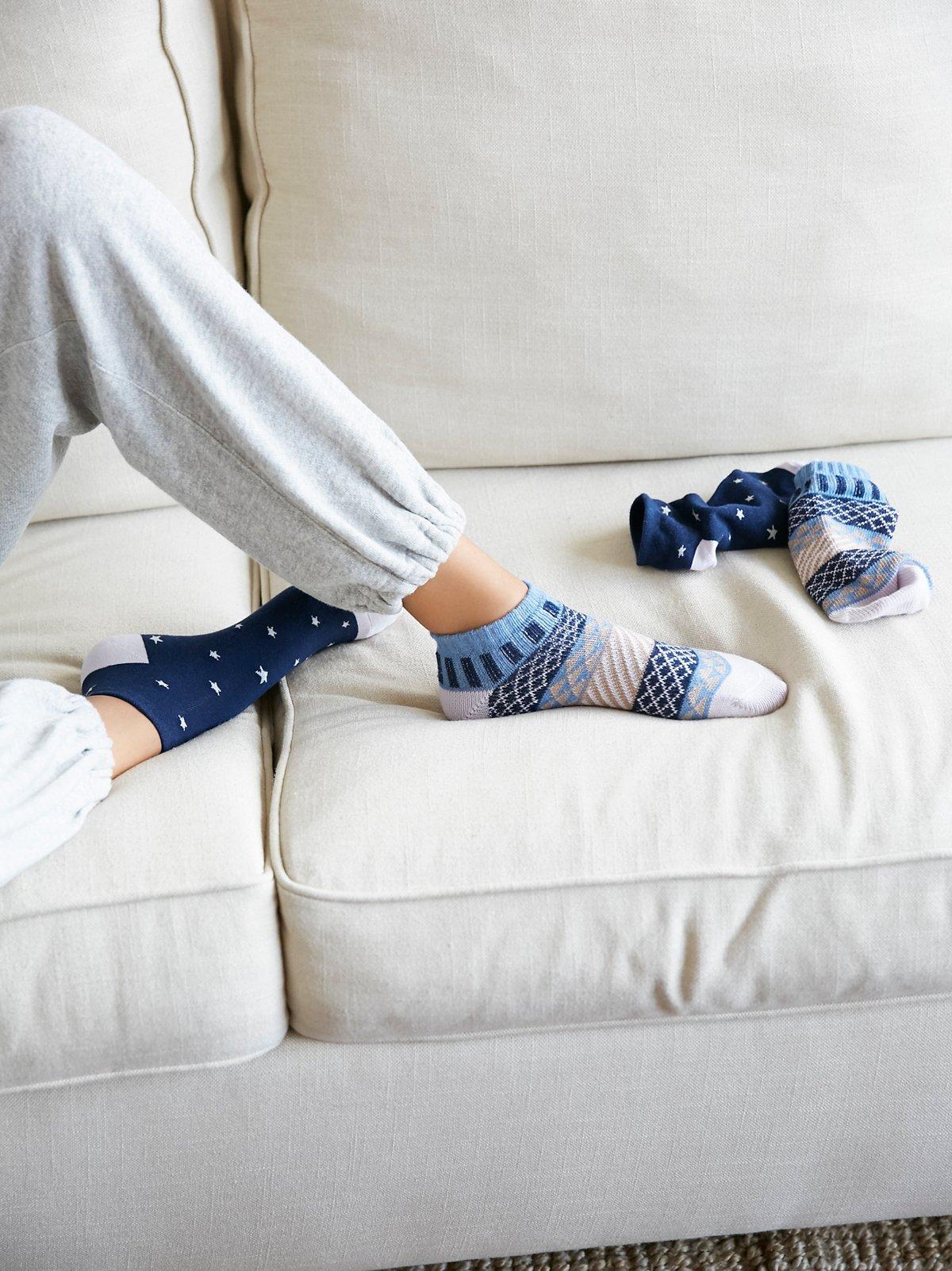 Freelove 2对装短袜