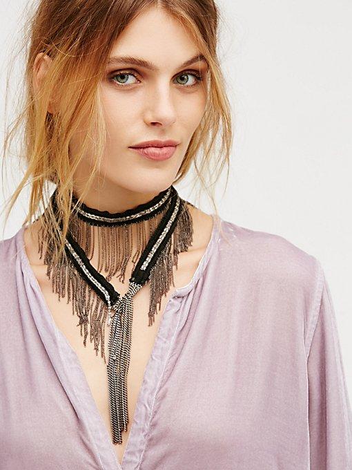 Product Image: Chain Fringe Wrap Bolo