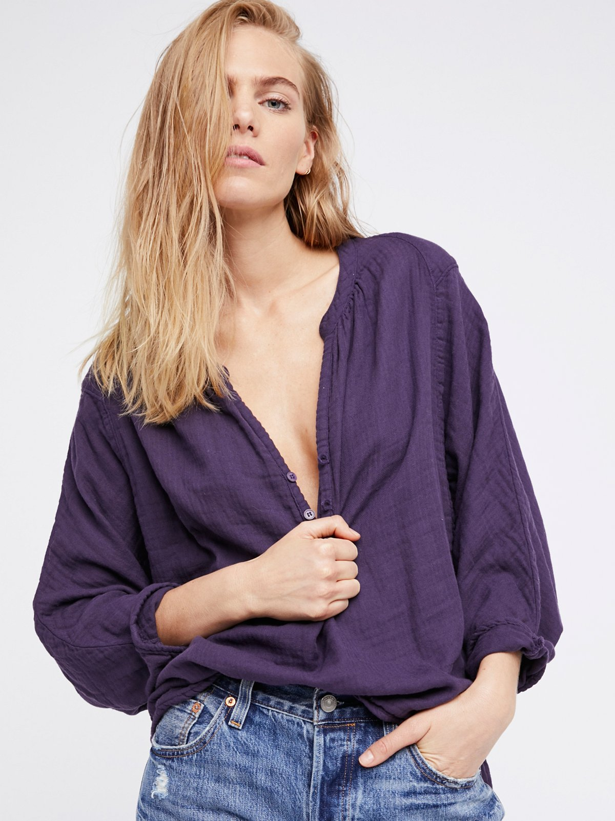 Doublecloth Solid Top