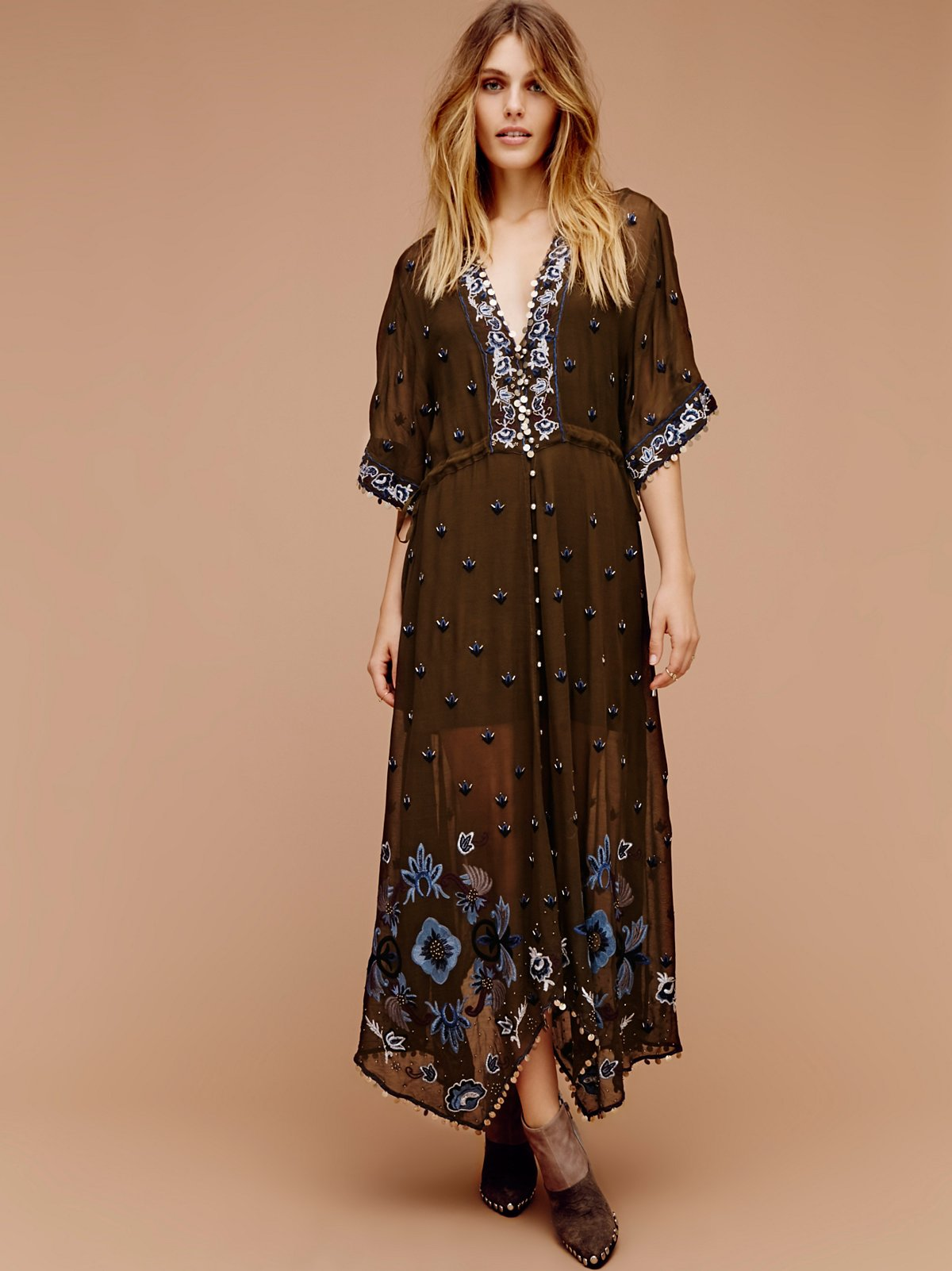Callipoe Embellished Maxi