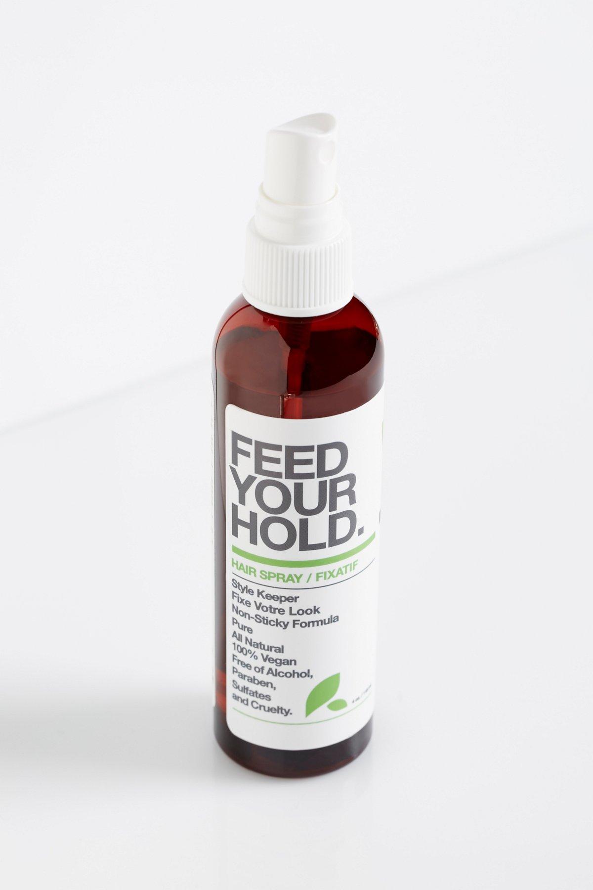 Feed Your Hold Hair Spray