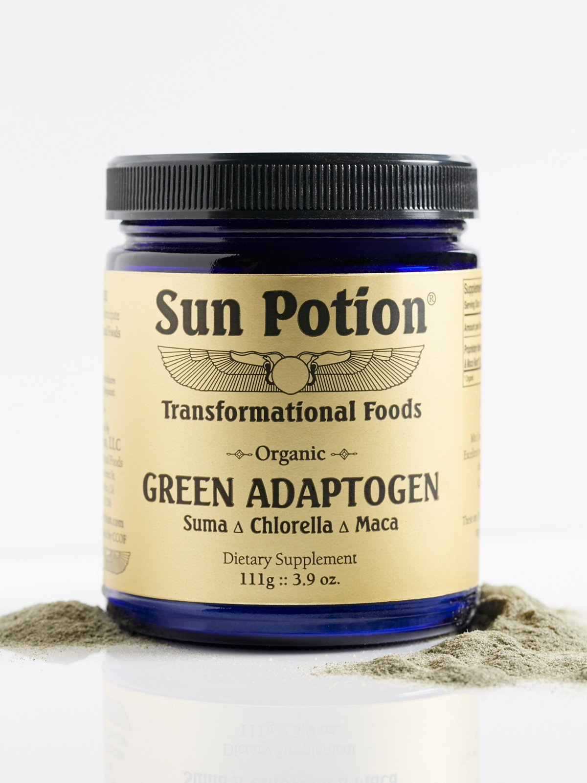Green Adaptogen Supplement