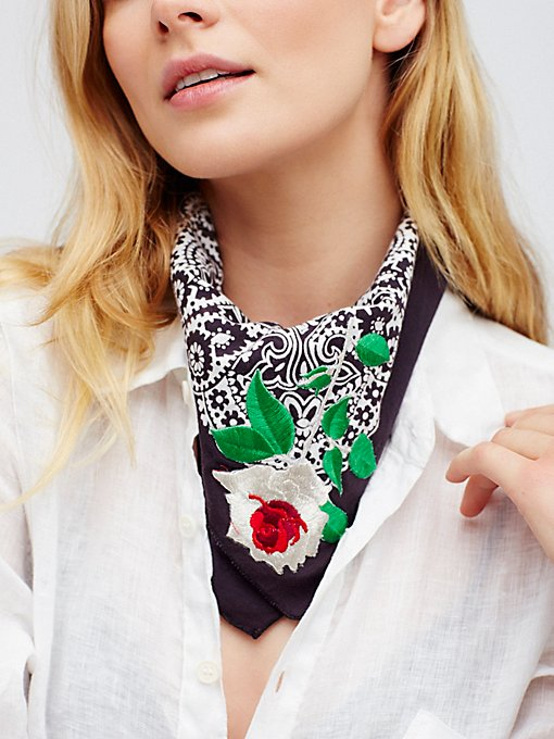 Product Image: Rambling Rose Bandana