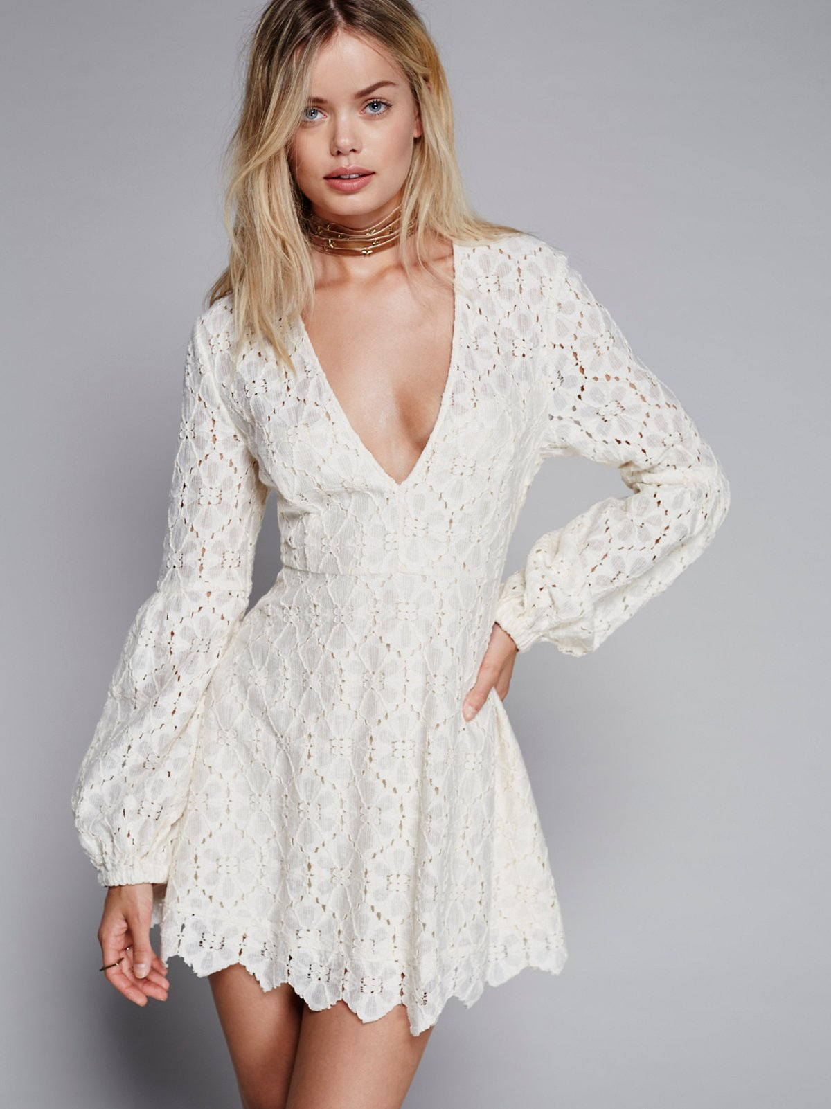 In the Stars Lace Dress