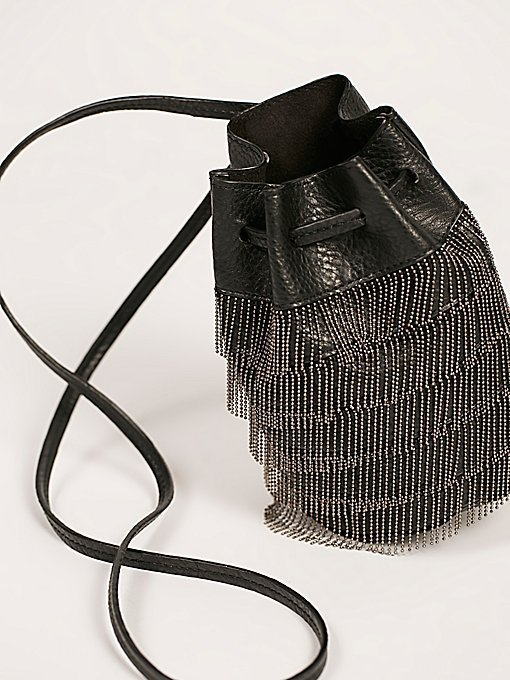Product Image: Bardot流苏迷你水桶包